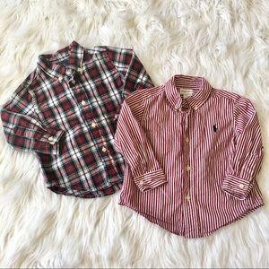 Ralph Lauren dress shirts 18 months